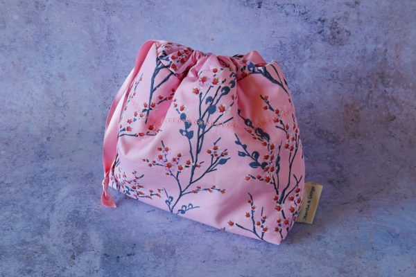 Martha and George | Handmade Gifts | Makeup Pouch Pink 1